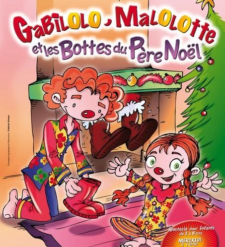 Gabilolo malolotte et les bottes du p re no l le th atre de jeanne - Pere noel interactif ...